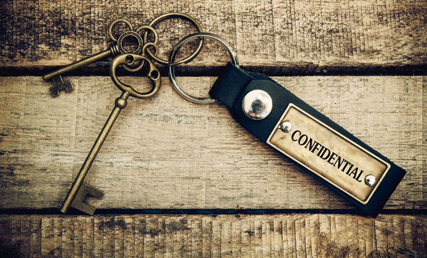 golden confidential key